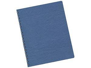 52136 Fellowes Classic Grain Texture Binding System Covers, 11-1/4 x 8-3/4, Navy, 200/Pack