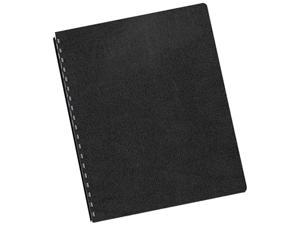 52149 Fellowes Executive Presentation Binding System Covers, 11-1/4 x 8-3/4, Black, 200/Pack