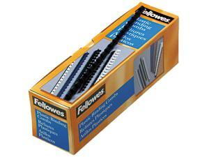 "52506 Fellowes Plastic Comb Bindings, 5/16"" Dia, 40 Sheet Capacity, Navy Blue, 100 Combs/Pack"