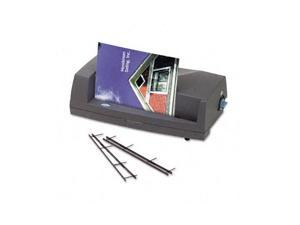 7704260 GBC VeloBind V110E Electric Presentation System, 13w x 7d x 4-1/2h, Charcoal