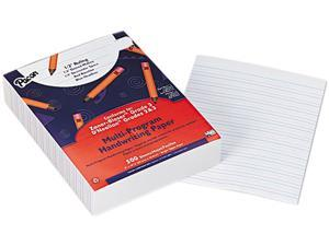 "Pacon Multi-Program Handwriting Paper, Grades 2/3, 1/2"" Rule, White, 500 Sheets/Ream"