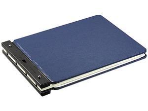 Wilson Jones 226-65N Raven Vinyl-Guarded Post Binder, 11 x 17, 8-1/4 Center, Light Blue