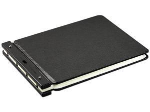 "Wilson Jones 241-66N Raven Vinyl-Guarded Post Binder, 11 x 17 Sheets, 2"" Capacity, Black"