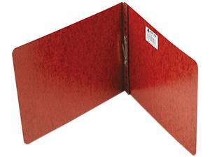 "Acco 17928 Pressboard Report Cover, Prong Clip, Letter, 2"" Capacity, Red"