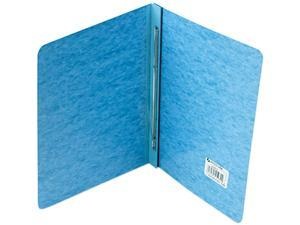 "Acco 25972 Pressboard Report Cover, Prong Clip, Letter, 3"" Capacity, Light Blue"