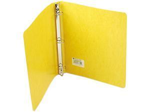 """ACCO 38610 Recycled PRESSTEX Round Ring Binder, 1"""" Capacity, Yellow"""
