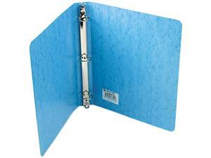 "ACCO 38612 Recycled PRESSTEX Round Ring Binder, 1"" Capacity, Light Blue"