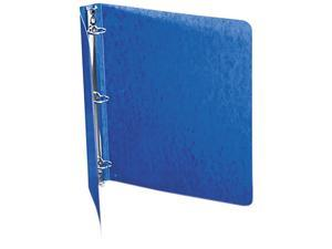 "ACCO 38613 Recycled PRESSTEX Round Ring Binder, 1"" Capacity, Dark Blue"