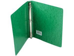 "ACCO 38616 Recycled PRESSTEX Round Ring Binder, 1"" Capacity, Dark Green"