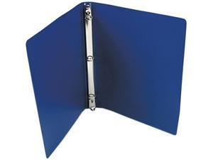 "ACCO 39702 ACCOHIDE Poly Ring Binder With 23-Pt. Cover, 1/2"" Capacity, Dark Royal Blue"