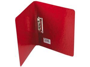 "ACCO 42529 PRESSTEX Grip Punchless Binder With Spring-Action Clamp, 5/8"" Capacity, Red"