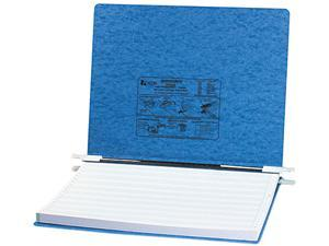 ACCO 54072 Pressboard Hanging Data Binder, 14-7/8 x 11 Unburst Sheets, Light Blue