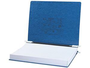 ACCO 54073 Pressboard Hanging Data Binder, 14-7/8 x 11 Unburst Sheets, Dark Blue
