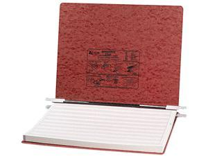 ACCO 54078 Pressboard Hanging Data Binder, 14-7/8 x 11 Unburst Sheets, Red