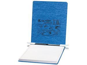 ACCO                                     Pressboard Hanging Data Binder, 9-1/2 x 11 Unburst Sheets, Light Blue
