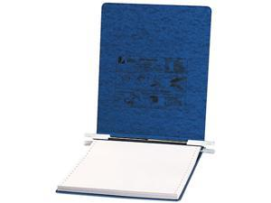 ACCO 54113 Pressboard Hanging Data Binder, 9-1/2 x 11 Unburst Sheets, Dark Blue