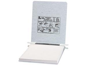 ACCO 54114 Pressboard Hanging Data Binder, 9-1/2 x 11 Unburst Sheets, Light Gray