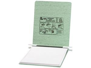 ACCO 54115 Pressboard Hanging Data Binder, 9-1/2 x 11 Unburst Sheets, Light Green