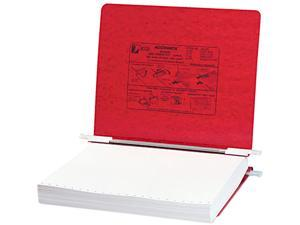 ACCO 54129 Pressboard Hanging Data Binder, 11 x 8-1/2 Unburst Sheets, Executive Red