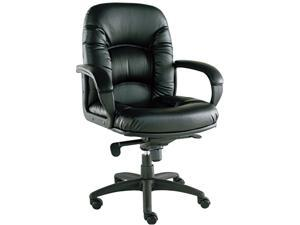 Alera Nico Series NI42CS10B (ALENI42CS10B)Mid-Back Swivel/Tilt Chair, Black