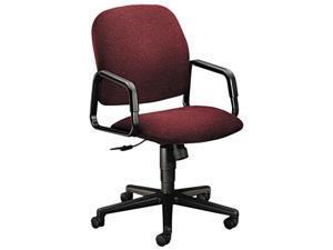 HON 4001AB62T Solutions Seating High-Back Swivel/Tilt Chair, Burgundy