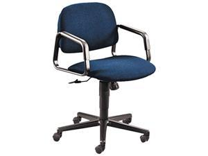 HON 4002AB90T Solutions Seating Mid-Back Swivel/Tilt Chair, Blue