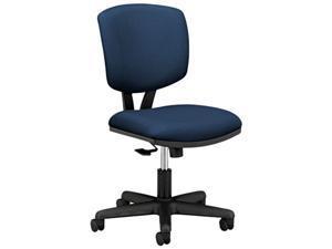 HON 5703GA90T Volt Series Task Chair with Synchro-Tilt, Polyester, Navy Upholstery