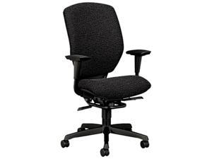 HON 6212BW19T Resolution 6200 Series High-Back Swivel/Tilt Chair, Iron Gray