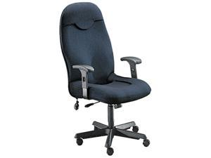 Mayline 9413AG2110 Comfort Series Executive High-Back Chair, Gray Fabric