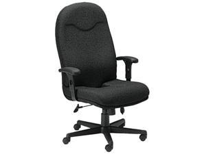 """Mayline Comfort 9413AG High Back Executive Chair - Fabric Black Seat - 27"""" x 27.3"""" x 48.3"""" Overall Dimension"""