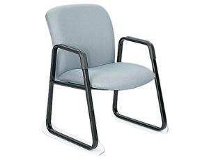 Safco 3492GR Guest Chair, Big & Tall, Gray