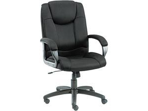 Alera Logan Series LG41ME10B (ALELG41ME10B)Mesh High-Back Swivel/Tilt Chair, Black