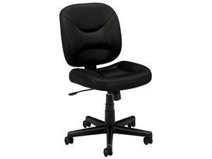 Basyx Vl210 Mesh Low-Back Task Chair, Black BSXVL210MM10
