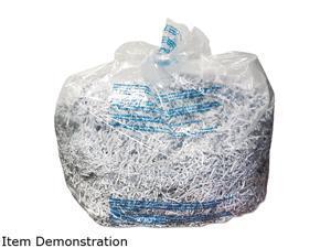 GBC Swingline 1765010 3000 Series General Office Shredder Bags, Tear-Resistant, 25 Bags/Box, Clear