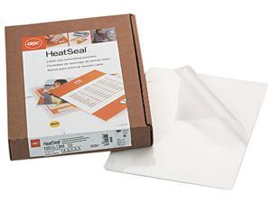 3200586 GBC HeatSeal Laminating Pouches, 3 mil, 8 1/4 x 11 1/4, 100/Box