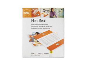 3200577B GBC HeatSeal Laminating Pouches, 3 mil, 9 x 11 1/2, 25/Pack