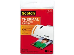 Scotch TP5903-20 Thermal Laminating Pouches - 20/Pack