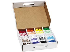 Dixon 80613 Washable Markers, Eight Assorted Colors, 200/Box