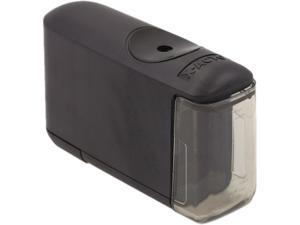 X-ACTO 16701 Helical Desktop Battery-Operated Pencil Sharpener, Black