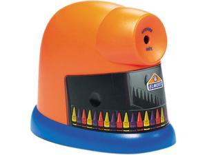 Elmer's 1680 CrayonPro Electric Crayon Sharpener, Orange