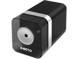 X-ACTO 1744 Heavy-Duty Desktop Electric Pencil Sharpener, Black