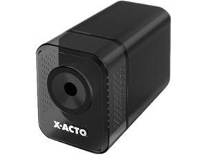 X-ACTO 1818 1800 Series Desktop Electric Pencil Sharpener, Charcoal Black