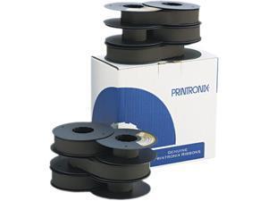 Printronix 179006001 Printer Ribbon, 90M Yield, Black, 6/box