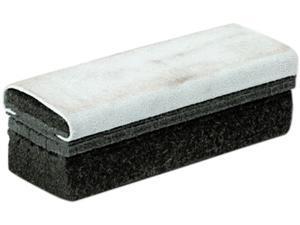 Quartet 807628 Deluxe Chalkboard Eraser/Cleaner, Laminated Felt, 6w x 2d x 1 5/8h
