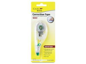 "Tombow Mono 68705 MONO Hybrid-Style Correction Tape, Non-Refillable, 1/6"" x 394"""