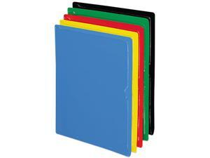 Pendaflex 62001 CopyGard Heavy-Gauge Organizers, Letter, Vinyl, Five Colors, 25/Box