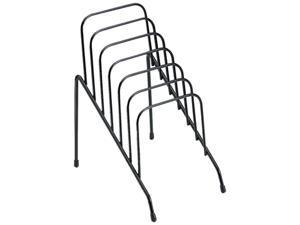 Fellowes 72613 Wire Step File Junior, Six Sections, 4 3/8 x 6 1/2 x 7 3/4, Black