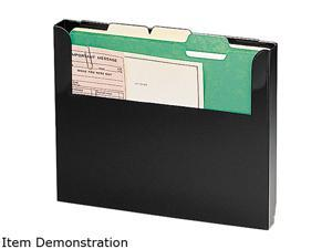 STEELMASTER by MMF Industries 2712WFBK Steelmaster Add-On Wall File, Letter, Black