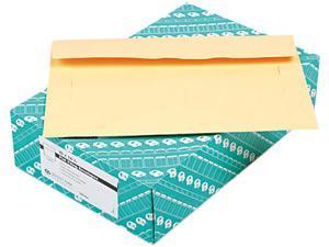 Quality Park 89606 Filing Envelopes, 10 x 14 3/4, 3 Point Tag, Cameo Buff, 100/Box