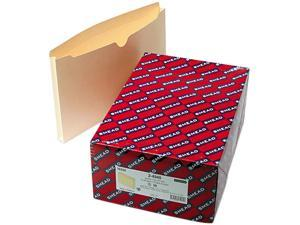 Smead 76520 File Jackets, Double-Ply Top, One Inch Expansion, Legal, 11 Point Manila, 50/Box